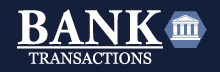 Bank Transactions Retina Logo